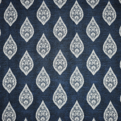 F2303 Blue Fabric: E70, BLUE MEDALLION, NAVY MEDALLION, MEDALLION WOVEN, BLUE WOVEN MEDALLION