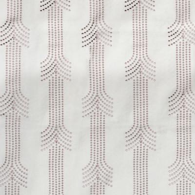 F2322 Rose Fabric: E71, BLUSH EMBROIDERY, LIGHT PINK EMBROIDERY, DOT EMBROIDERY, BLUSH DOT