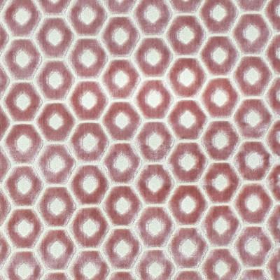 F2327 Mauve Fabric: E71, TEXTURE CUT VELVET, GEOMETRIC VELVET, BLUSH CUT VELVET, LIGHT PINK VELVET, CUT VELVET, LIGHT PINK TEXTURE