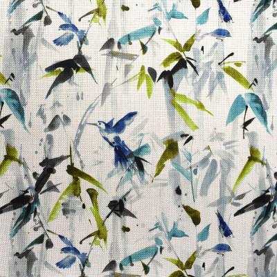 F2363 Mini-Twilight Fabric: E70, TROPICAL, CONTEMPORARY TROPICAL, TEAL TROPICAL PRINT, BLUE TROPICAL PRINT, CONTEMPORARY TROPICAL PRINT