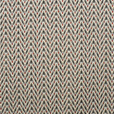 F2372 Carmine Fabric: E71, TEXTURED RED AND GRAY, RED AND GRAY CHEVRON, CHEVRON TEXTURE, RED, GRAY, WOVEN CHEVRON