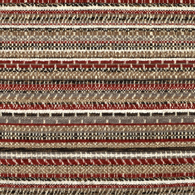 F2380 Cayenne Fabric: E71, RED AND BROWN TEXTURE, SOUTHWEST, WOVEN TEXTURE, RED AND BROWN SOUTHWEST WOVEN, SOUTHWEST STRIPE, TEXTURED, STRIPE