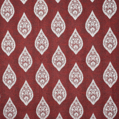 F2383 Ruby Fabric: E71, RED MEDALLION, RED JACQUARD, RED MEDALLION JACQUARD, MEDALLION, JACQUARD