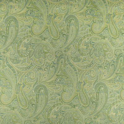 F2408 Lapis Fabric: E72, PAISLEY TAPESTRY, GREEN TAPESTRY, GREEN PAISLEY, TRADITIONAL PAISLEY, GREEN SCROLL, TAPESTRY, TRADITIONAL SCROLL