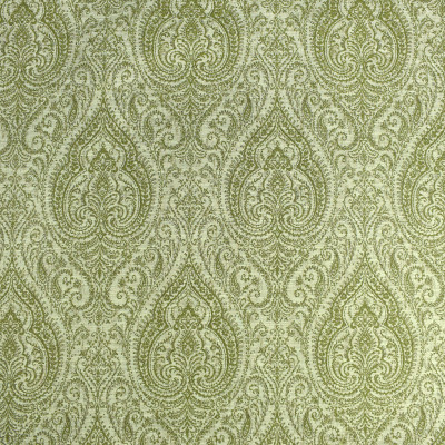 F2409 Pistachio Fabric: E72, MEDALLION, TRADITIONAL MEDALLION, TRADITIONAL, GREEN MEDALLION, GREEN TAPESTRY, GREEN JACQUARD, MEDALLION TAPESTRY, TAPESTRY, JACQUARD