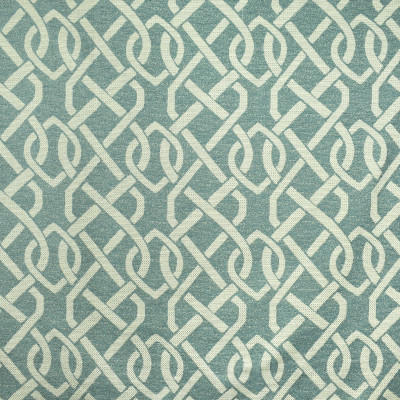 F2414 Aegean Fabric: E72, LATTICE WOVEN, TEAL LATTICE, LATTICE, GEOMETRIC, TEAL GEOMETRIC, GEOMETRIC WOVEN, TEAL WOVEN