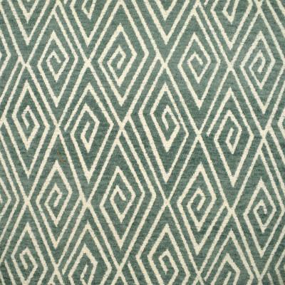F2415 Capri Fabric: E72, DIAMOND CHENILLE, DIAMOND TEXTURE, BLUE DIAMOND, BLUE GEOMETRIC, GEOMETRIC CHENILLE, GEOMETRIC TEXTURE, MIST, SPA BLUE