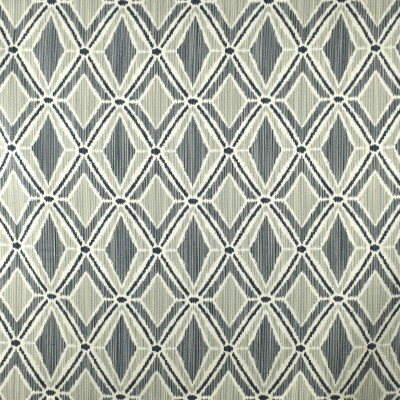 F2438 Rainfall Fabric: E72, DIAMOND JACQUARD, DIAMOND WOVEN, BLUE DIAMOND, BLUE GEOMETRIC, GEOMETRIC JACQUARD, BLUE JACQUARD, JACQUARD