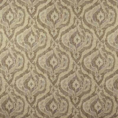 F2477 Linen Fabric: E73, MEDALLION JACQUARD, MEDALLION TEXTURE, JACQUARD TEXTURE, BROWN MEDALLION, BROWN JACQUARD, NEUTRAL MEDALLION, NEUTRAL JACQUARD