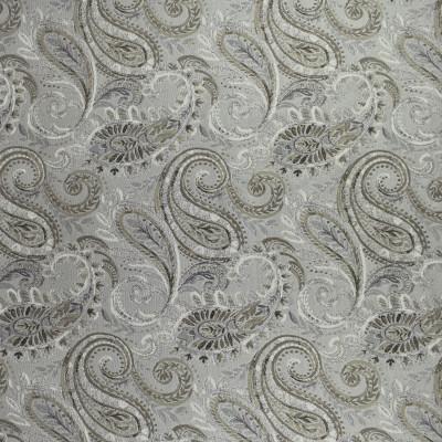 F2497 Dove Grey Fabric: E73, PAISLEY, TRADITIONAL PAISLEY, TRADITIONAL, GRAY PAISLEY, GRAY TAPESTRY, GRAY JACQUARD, PAISLEY TAPESTRY, TAPESTRY, JACQUARD, DOVE GREY