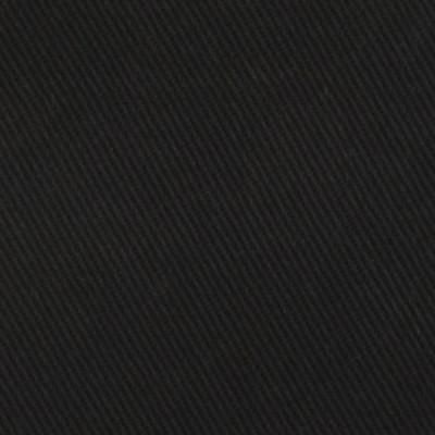 F2556 Black Fabric: E74, SLIPCOVER, WASHABLE, MADE IN USA, PERFORMANCE, 100% COTTON, COTTON, TWILL, COTTON TWILL, BLACK TWILL, BLACK WASHABLE