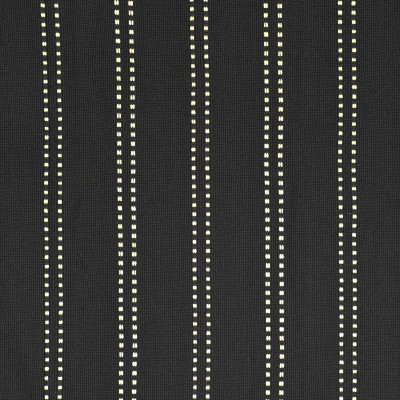 F2572 Onyx Fabric: E75, MADE IN USA, REVOLUTION, OUTDOOR, REVOLUTION OUTDOOR, PERFORMANCE, BLEACH CLEANABLE, BLACK OUTDOOR, OUTDOOR STRIPE, BLACK AND WHITE STRIPE