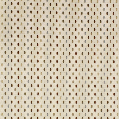 F2583 Linen Fabric: E75, MADE IN USA, REVOLUTION, OUTDOOR, REVOLUTION OUTDOOR, PERFORMANCE, BLEACH CLEANABLE, OUTDOOR DOT, MULTICOLOR DOT, NEUTRAL DOT