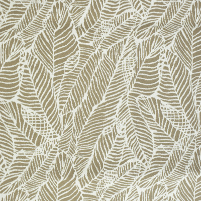 F2587 Hemp Fabric: E75, MADE IN USA, REVOLUTION, OUTDOOR, REVOLUTION OUTDOOR, PERFORMANCE, BLEACH CLEANABLE, TROPICAL OUTDOOR, LEAF, OUTDOOR LEAF, NEUTRAL TROPICAL, NEUTRAL OUTDOOR, TROPICAL, FOLIAGE, TAUPE