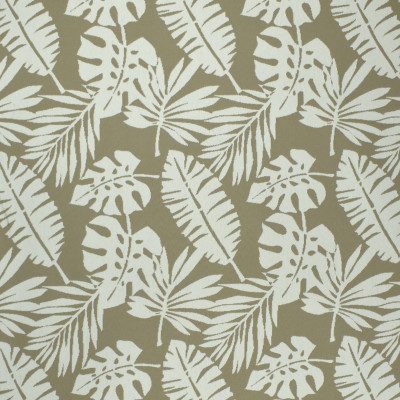 F2591 Grain Fabric: E75, MADE IN USA, REVOLUTION, OUTDOOR, REVOLUTION OUTDOOR, PERFORMANCE, BLEACH CLEANABLE, TROPICAL OUTDOOR, LEAF, OUTDOOR LEAF, NEUTRAL TROPICAL, NEUTRAL OUTDOOR, TROPICAL, FOLIAGE, TAUPE, BROWN LEAF, BROWN