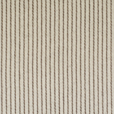 F2595 Rope Fabric: E75, MADE IN USA, REVOLUTION, OUTDOOR, REVOLUTION OUTDOOR, PERFORMANCE, BLEACH CLEANABLE, BROWN STRIPE, OUTDOOR STRIPE, NEUTRAL STRIPE
