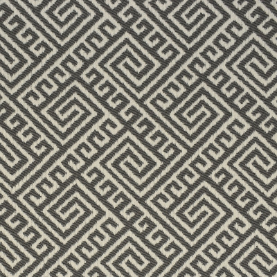 F2612 Shade Fabric: E75, MADE IN USA, REVOLUTION, OUTDOOR, REVOLUTION OUTDOOR, PERFORMANCE, BLEACH CLEANABLE, GRAY GEOMETRIC, OUTDOOR GEOMETRIC, GREEK KEY, GRAY GREEK KEY, OUTDOOR GREEK KEY
