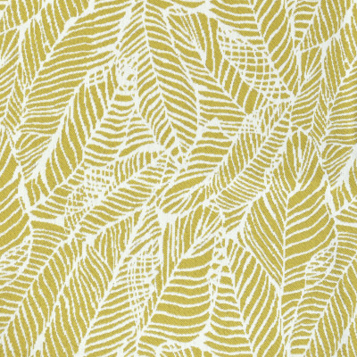 F2633 Lemon Fabric: E76, MADE IN USA, REVOLUTION, OUTDOOR, REVOLUTION OUTDOOR, PERFORMANCE, BLEACH CLEANABLE, TROPICAL OUTDOOR, LEAF, OUTDOOR LEAF, YELLOW TROPICAL, YELLOW OUTDOOR, YELLOW LEAF, TROPICAL, FOLIAGE