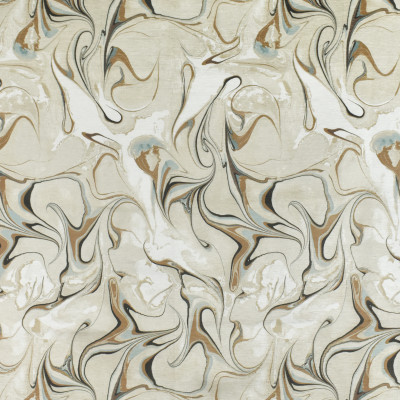 F2693 Marble Fabric: E84, CONTEMPORARY, MARBLE, PRINT, CHENILLE, BLUE, MINERAL, GOLD