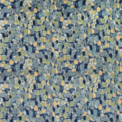 F2727 River Fabric: E84, CONTEMPORARY, DOT, PRINT, BLUE, GREEN, MULTI