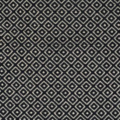 F2735 Indigo Fabric: E84, DIAMOND, GEOMETRIC, WOVEN, TEXTURE, BLUE, NAVY, INDIGO, SMALL SCALE, CHAIR SCALE