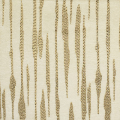 F2745 Opulence Fabric: E83, METALLIC, STRIPE, EMBROIDERY, GOLD, NEUTRAL, CREAM, CHENILLE