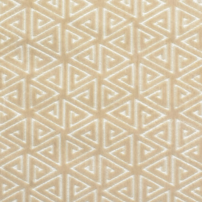 F2753 Champagne Fabric: E83, GEOMETRIC, CONTEMPORARY, VELVET, CUT VELVET, NEUTRAL, CHAMPAGNE, TEXTURE