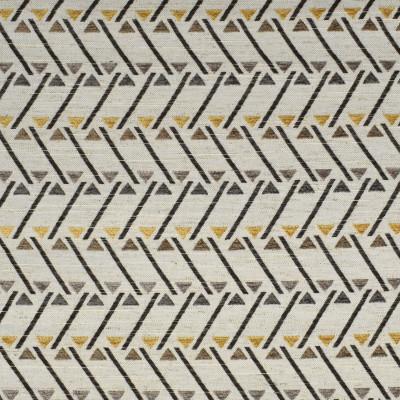 F2765 Saffron Fabric: E83, GEOMETRIC, CONTEMPORARY, TEXTURE, NEUTRAL, GRAY, GREY, SAFFRON