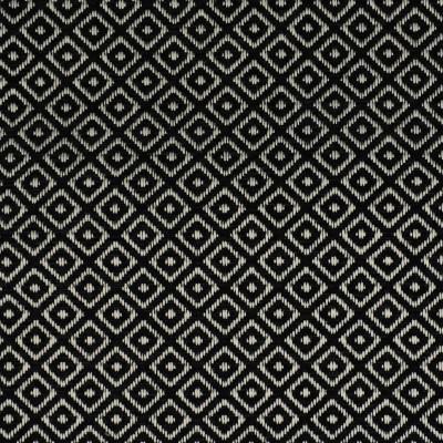 F2793 Jet Fabric: E83, DIAMOND, GEOMETRIC, WOVEN, TEXTURE, BLACK, JET, SMALL SCALE, CHAIR SCALE