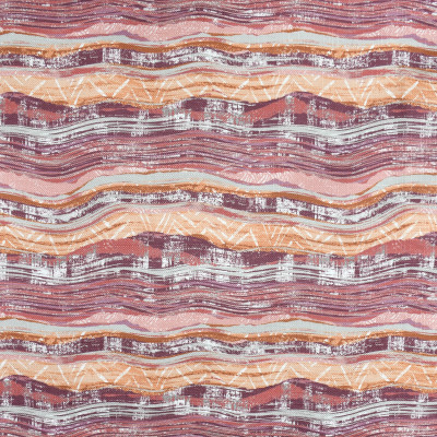F2802 Berry Fabric: E85, CONTEMPORARY, MARBLE, PRINT, PINK, PURPLE, ORANGE, BERRY, MULTI