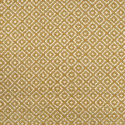 F2804 Gold Fabric: E85, DIAMOND, GEOMETRIC, WOVEN, TEXTURE, GOLD, YELLOW, SAFFRON, SMALL SCALE, CHAIR SCALE