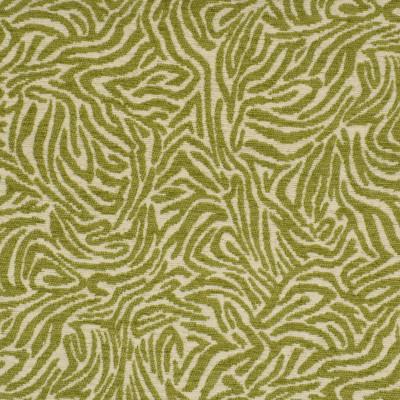 F2813 Key Lime Fabric: E85, ANIMAL, SKIN, CHENILLE, WOVEN, GREEN, KEY LIME, ZEBRA