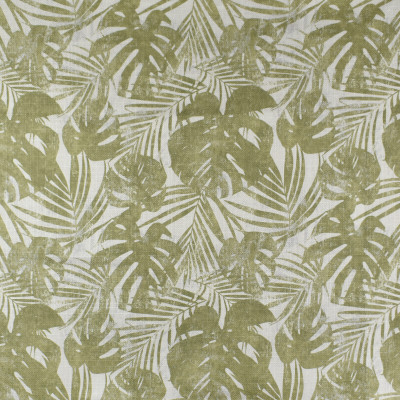 F2814 Leaf Fabric: E85, FOLIAGE, LEAF, TROPICAL, PRINT, GREEN