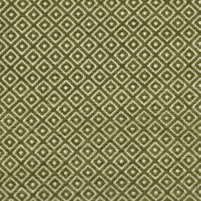 F2815 Lilypad Fabric: E85, DIAMOND, GEOMETRIC, WOVEN, TEXTURE, GREEN, SMALL SCALE, CHAIR SCALE