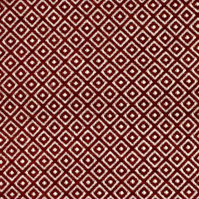 F2850 Merlot Fabric: E89, E85, DIAMOND, GEOMETRIC, WOVEN, TEXTURE, RED, MERLOT, SMALL SCALE, CHAIR SCALE