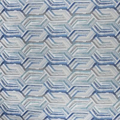 F2960 Marina Fabric: E80, GEOMETRIC, WOVEN, BLUE, MARINA