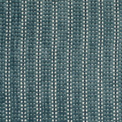 F2967 Skipper Fabric: E80, STRIPE, CHENILLE, TEXTURE, BLUE, INDIGO