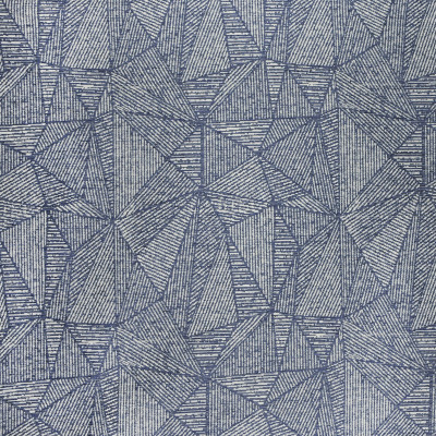 F2976 Lapis Fabric: E80, GEOMETRIC, TEXTURE, WOVEN, BLUE, LAPIS, ABSTRACT, KALEIDOSCOPE