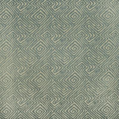 F2986 Puddle Fabric: E80, GEOMETRIC, AZTEC, WOVEN, BLUE, TEAL