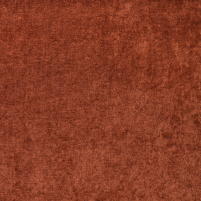F3005 Rust Fabric: E80, SOLID, CHENILLE, TEXTURE, RED, ORANGE, RUST