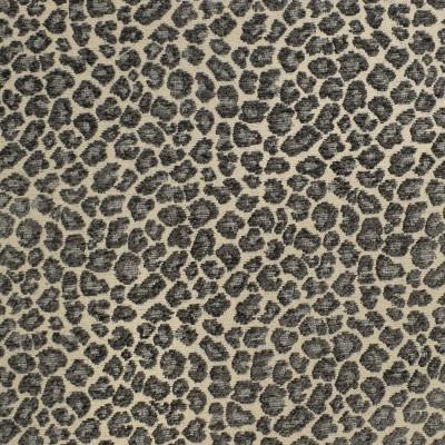 F3051 Slate Fabric: E81, SKIN, ANIMAL, CHENILLE, TEXTURE, GRAY, GREY, SLATE, ANIMAL SKIN, CHEETAH