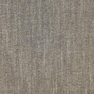 F3054 Monochrome Fabric: E81, HERRINGBONE, WOVEN, BLACK, TEXTURE