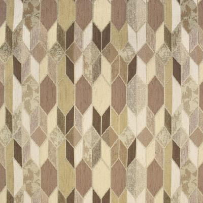 F3130 Driftwood Fabric: E86, MADE IN USA, GEOMETRIC, METALLIC, CHENILLE, BROWN, NEUTRAL, DRIFTWOOD