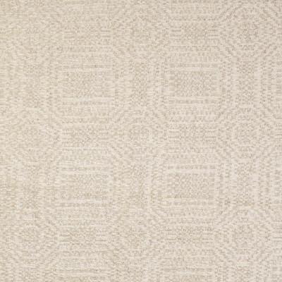 F3131 Ecru Fabric: E86, MADE IN USA, GEOMETRIC, CHENILLE, TEXTURE, NEUTRAL, ECRU