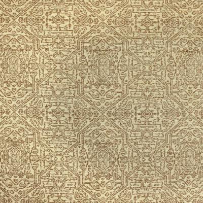 F3169 Latte Fabric: E86, SOUTHWEST, MEDALLION, TEXTURE, BROWN, LATTE