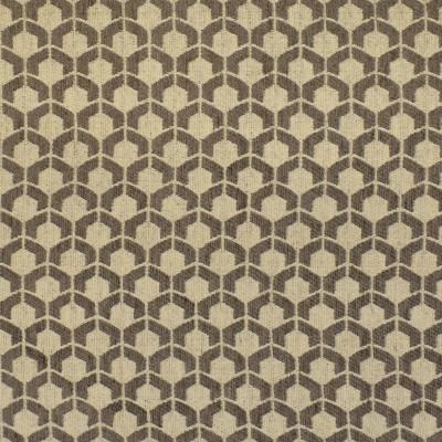 F3171 Stone Fabric: E86, MADE IN USA, GEOMETRIC, WOVEN, GRAY, GREY, SMALL SCALE, STONE