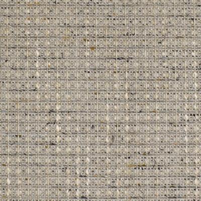 F3196 Mushroom Fabric: E87, MADE IN USA, GEOMETRIC, PLAID, TEXTURE, GRAY, GREY