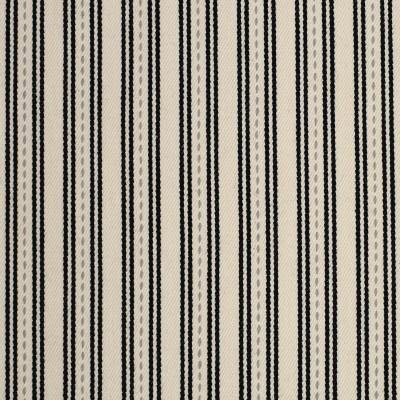 F3216 Dalmation Fabric: E87, STRIPE, WOVEN, TWILL, COTTON, 100% COTTON, COTTON STRIPE, BLACK, DALMATIAN
