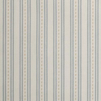 F3223 Mist Fabric: E88, TWILL, COTTON TWILL, COTTON STRIPE, STRIPE, 100% COTTON, BLUE, MIST