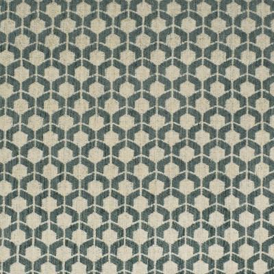 F3232 Sea Fabric: E88, MADE IN USA, GEOMETRIC, TEXTURE, TEAL, SEA, SMALL SCALE